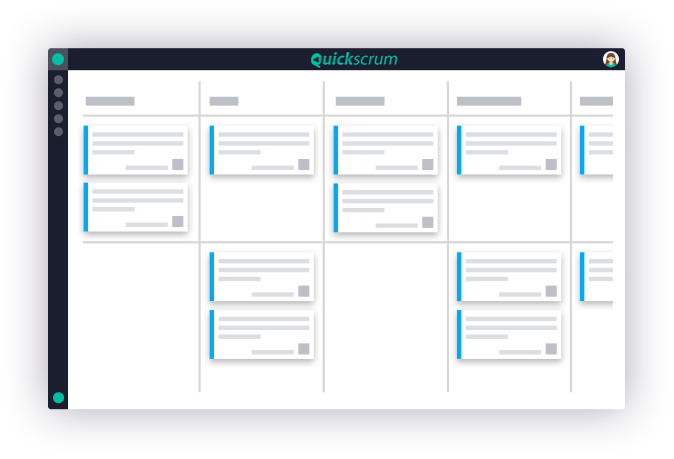 Scrum Tool dashboard